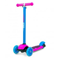 Milly Mally Scooter Little Star Pink-Blue