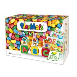 Pianki PlayMais Fun to learn - abc - zestaw kreatywny