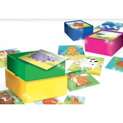 Zestaw Baby Carotina Stacking Game, Lisciani