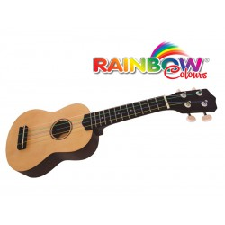 Ukulele Rainbow Colours